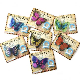 Mini Butterfly Kites in various colours