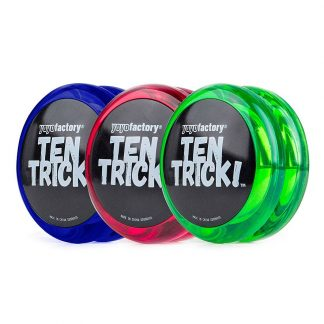 yoyofactory Ten Trick Yoyo - Blue, Red & Green