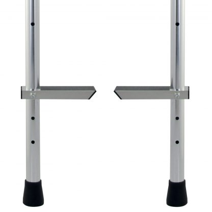 Close up image of Jumbo Stilts adjustable feet
