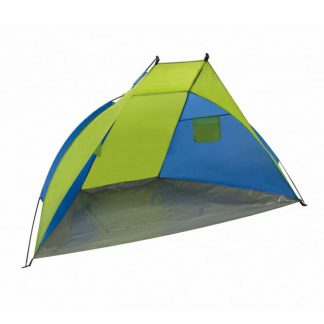 Blue & Green Beach Shelter with UV40 Sun Protection