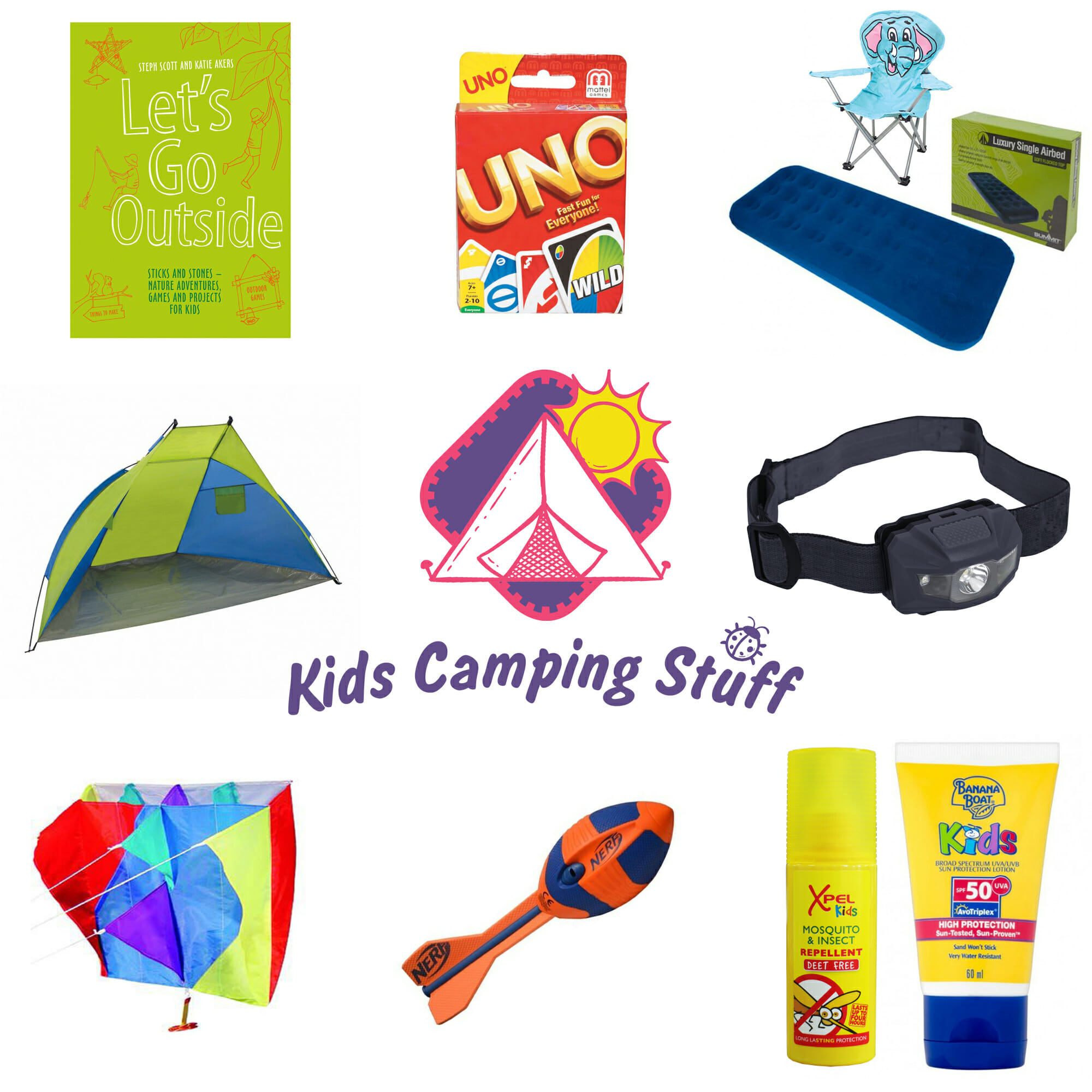 10 Must Have Items When Camping with Kids